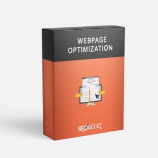 Webpage optimization service